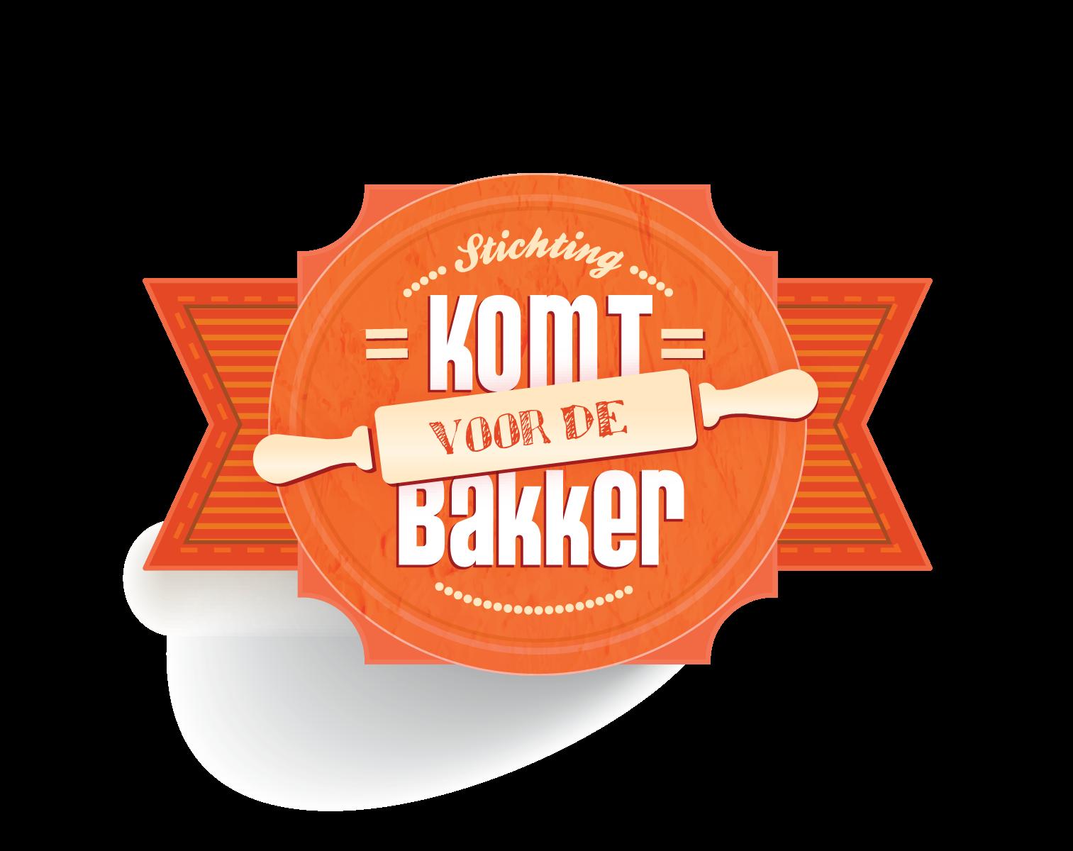 logo komt voor de bakker